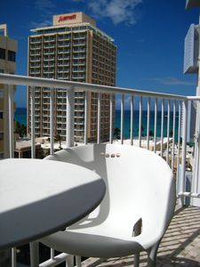 Amazing view of the Atlantic ocean & city from our private balcony located on the 10th Floor