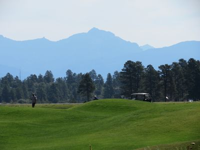 Pagosa Golf Course just a short walk from your door step.