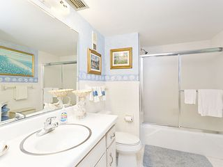Flagler Beach house photo - The master bath contains both a shower and tub option.