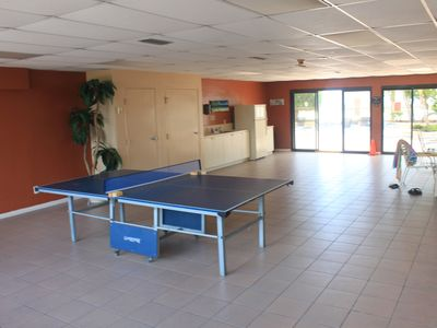 Games room with Ping Pong