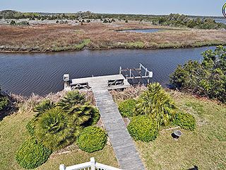 Surf City house photo - View of the sound