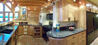Pagosa Springs house photo - Kitchen w/ 2 Ovens 2 Microwaves 2 Dishwashers 2 Refrigerators granite countertop