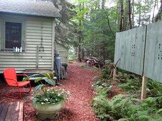 Stanfordville cottage photo - outdoor shower area