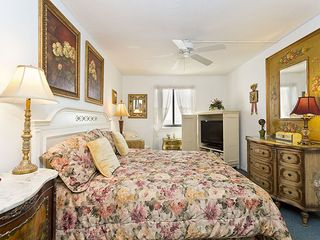 Flagler Beach house photo - The plush master bedroom boasts fantastic ocean views!