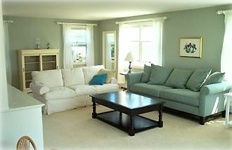 Spacious living area, part of open floor plan