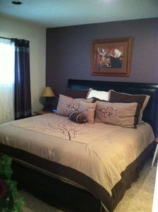 Master Bedroom with Bathroom. New King mattress