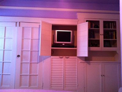 master bedroom entertainment unit