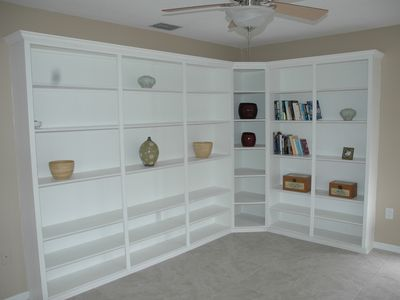 New Port Richey villa rental - Quite reading area on the Mezzanine floor