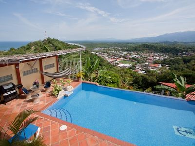 Manuel Antonio house rental - Coastal and Quepos Views from Casa Azul