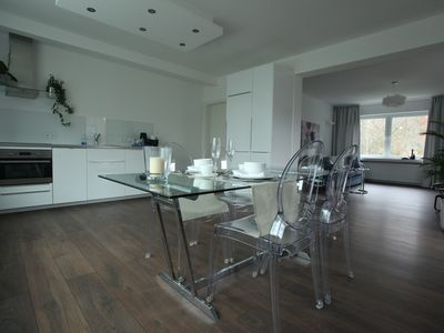 The luxury suite 95m2 / For 5 persons / On request daily cleaning and breakfast