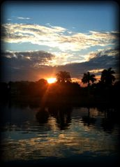 Vacation Homes in Marco Island house photo - Gorgeous Sunsets Every Evening from the lanai.