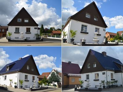 3 houses to 38 people 50'TV - from 12 € / night - Dogs welcome -  - FERIENHAUS ELLA 180 m² HARZ - BAD SACHSA - BROCKEN - BRAUNLAGE -