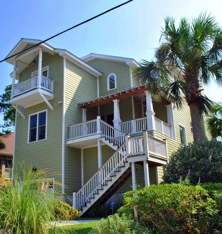 Homes For Rent East Bay Ca: St. Simons Island House Rental: Large East Beach House