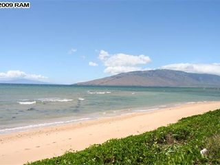 Kihei house photo - Your Private Beach. Count the footprints, Not Many!