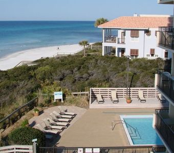 Ideal 4th Floor Location for East and West Beach Views; Partial Pool view; #406