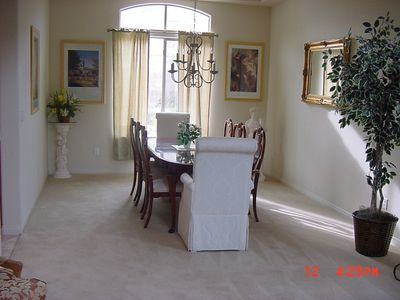 Las Vegas house rental - Dining Rm. - Seats 8