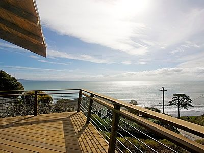 Gorgeous 180 degree ocean view from large private deck