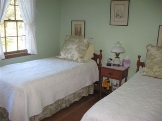 Pocasset house photo - Twin Bedroom on main level.