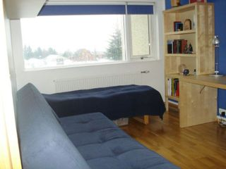 South Iceland apartment photo - The blue bedroom. Room for 1-3 persons.