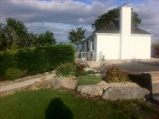 County Mayo cottage photo - Side view and parking area Carrowholly Cottage