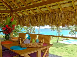 Samana villa photo - Outdoor Dining