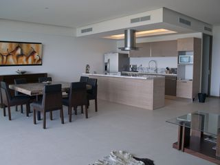Nuevo Vallarta condo photo - Fully equipped, gorgeous kitchen. Stainless fridge with ice cube distributor.