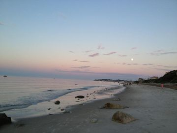 Plymouth house rental - Gorgeous evenings on Priscilla Beach!! Grab your beach chair and a sub! Enjoy!