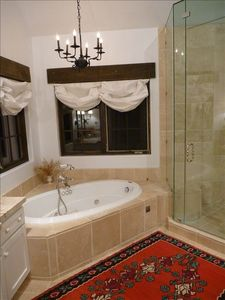 jet bathtub. steam shower