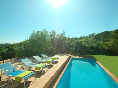 Beautiful Mediterranean villa close to Llafranc, with private pool and garden