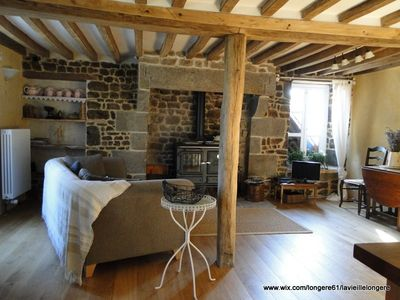 A beautiful stone cottage in the heart of the Suisse Normande, Normandy