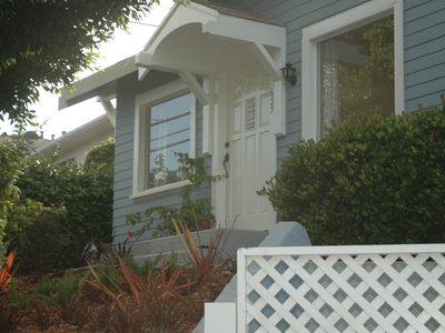 Santa Monica cottage rental - Front Door