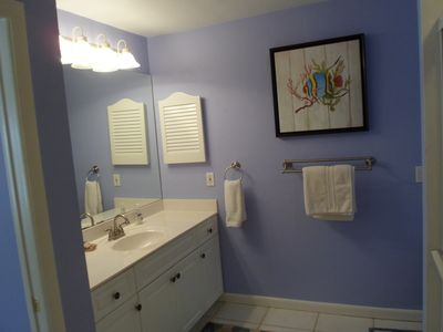 .The Master Bath is spacious, has a very large walk in shower and walk in closet