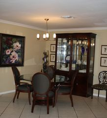 Fort Lauderdale house photo - Dining Room...seats six...buffet with additional entertaining pieces