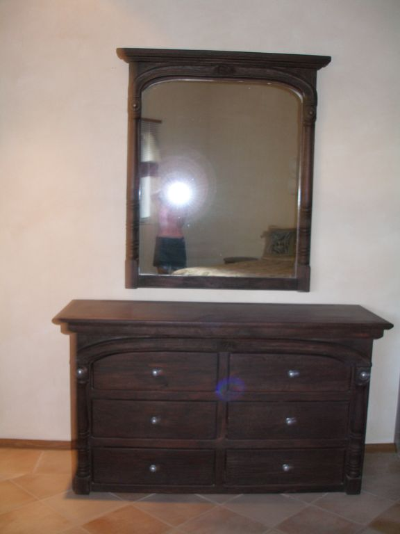 dresser in 2nd. bedroom