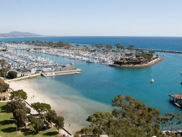 Walk to Dana Point Harbor with over 2500 Yachts