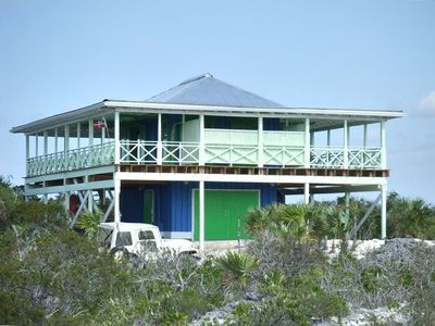 Private Beach House 'The Boathouse' on 3 1/4 acres of private white sand beach