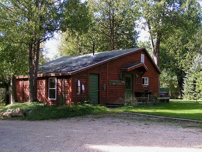 Cadillac cabin rental - Spring returning to the LOGJAM