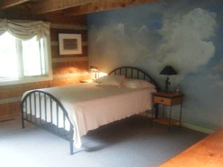Blowing Rock house photo - Master Bedroom - downstairs
