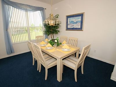 Formal dining area