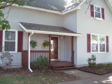 South Haven house rental - Home from street front