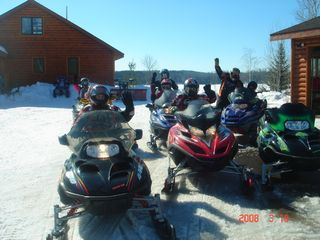 Orr cabin photo - Ready for the trails