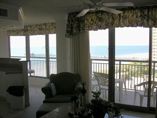 Kingston Plantation condo photo - Living room view
