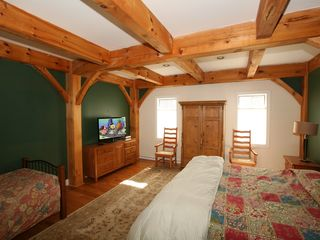 Tannersville house photo - 1st Floor King Bedroom with additonal Twin Bed and room to move