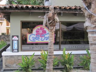 Playa del Coco condo photo - Coffee shop at the front of Las Palmas