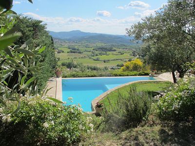 Provencal Drome beautiful quiet house perched pool facing Ventoux, natural garden