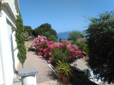 APARTMENT F2, CLIM. TERRACE, WIFI, NEAR BEACH PORTICCIO