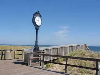 Bethany Beach townhome photo - The clock on the boardwalk of Bethany Beach.