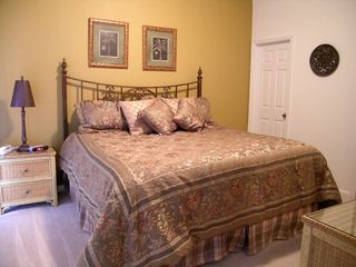 Windsor Hills villa photo - Master #1: King bed with pillow top mattress