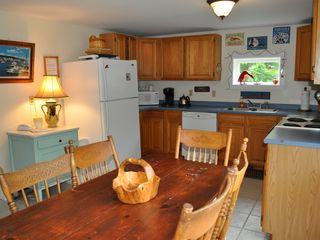 Fully supplied kitchen for cooking for large groups - Bar Harbor cottage vacation rental photo