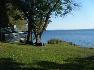 Oneida Lake house photo - looking east from next door